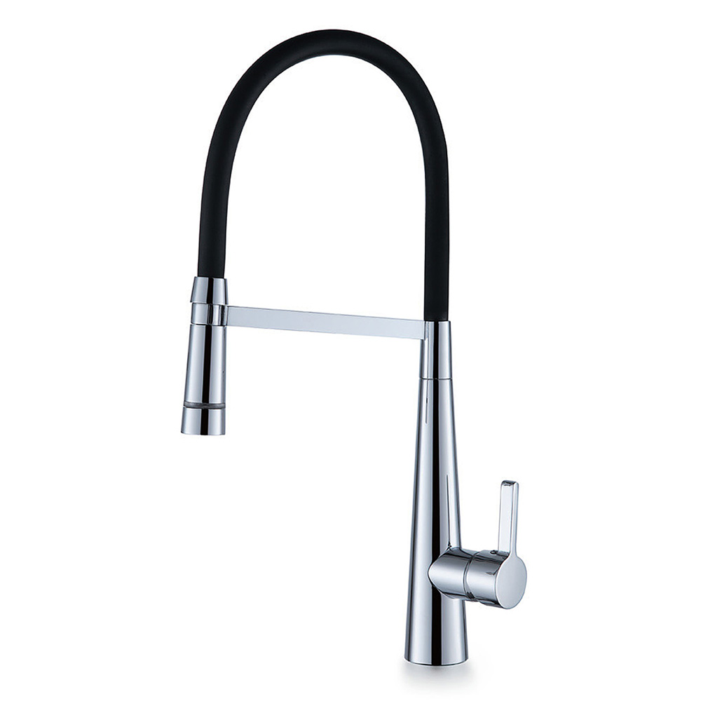 Amanda LED Pull Down Kitchen Mixer-Chrome