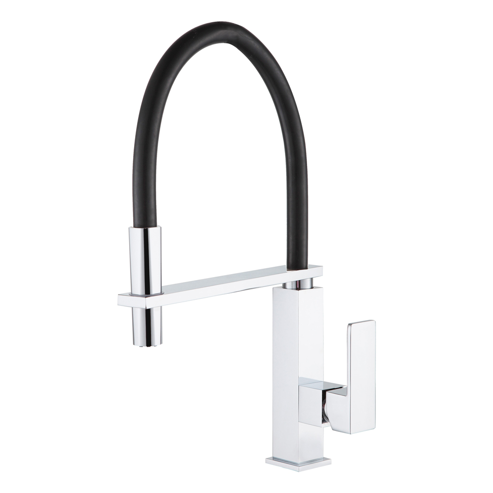 Blok Pull Down Kicthen Mixer Chrome/Black