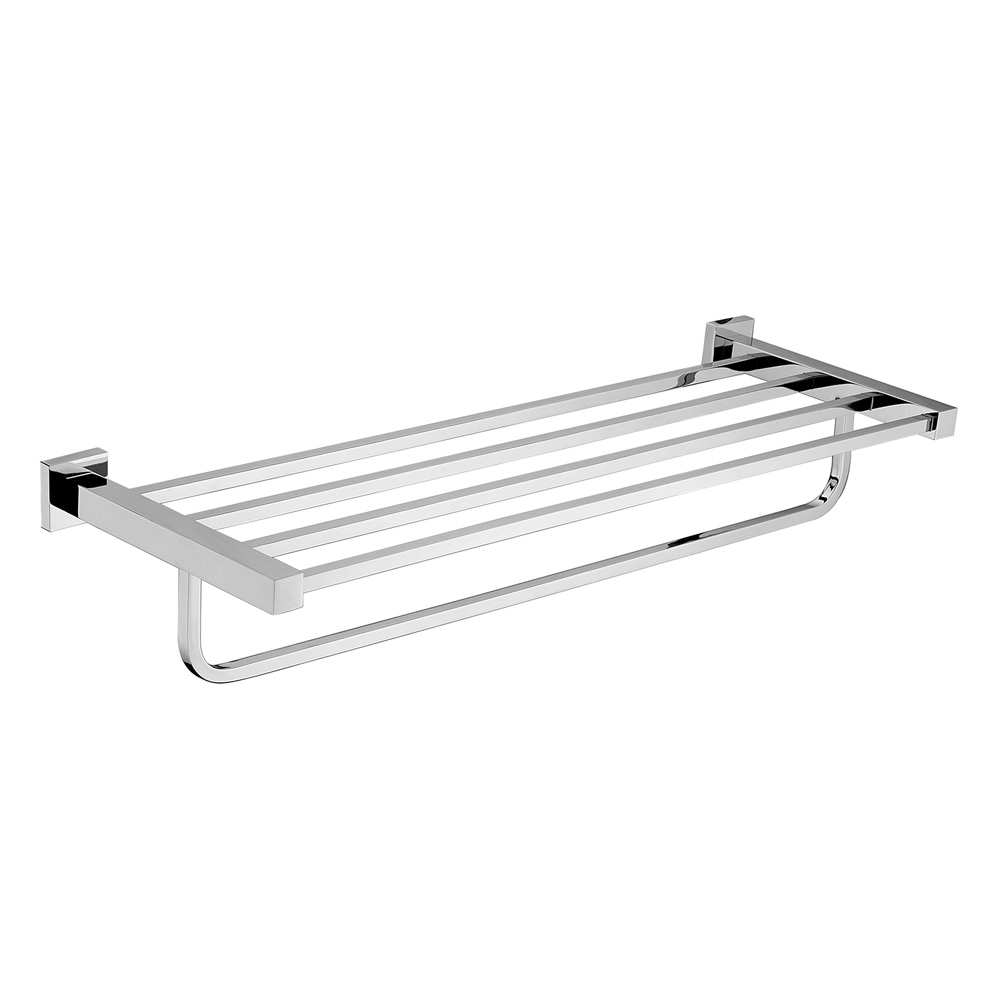 Luxe Towel Rack Chrome
