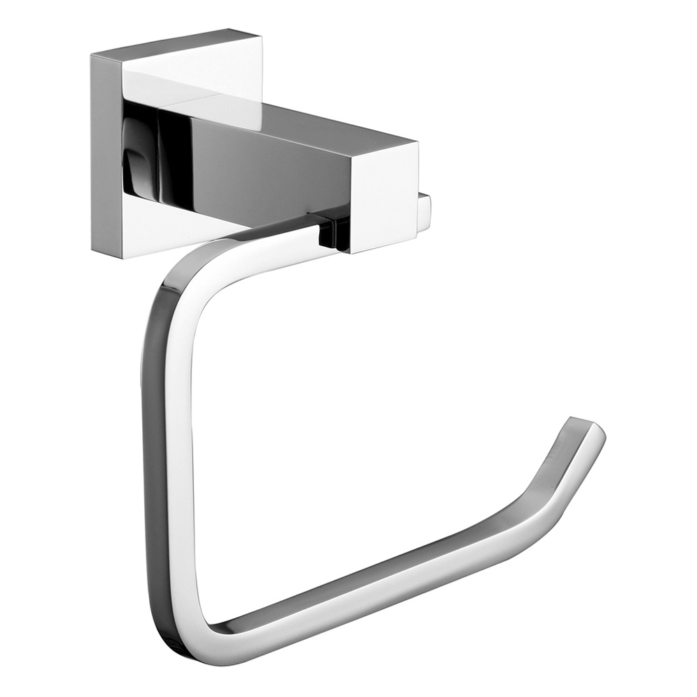 Luxe Towel Ring Chrome
