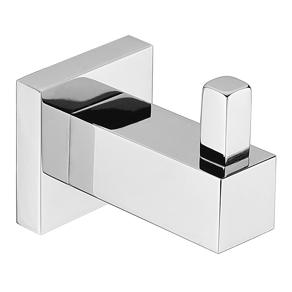 Luxe Single Robe Hook Chrome