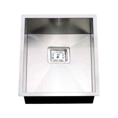Rocco Single Bowl Sink Square Waste 380x440mm