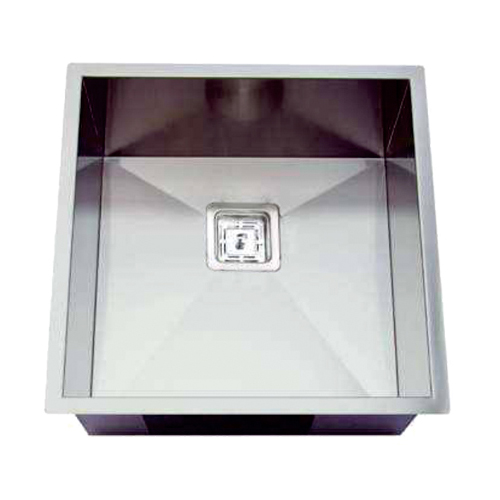 Rocco Single Bowl Sink Square Waste 450x450mm
