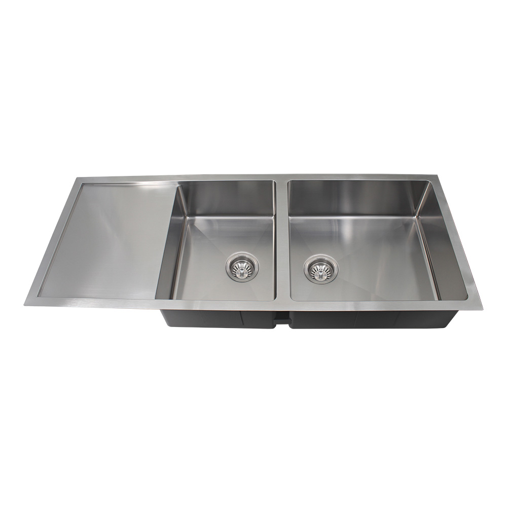 Rocco 1.5 Bowl Sink Round Waste 1308x527mm