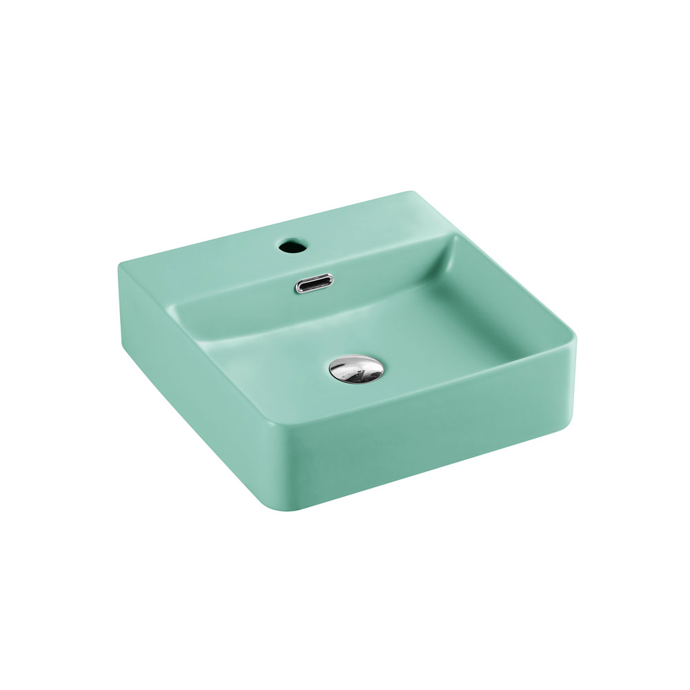 Marsay Wall Hung Basin - Antique Green