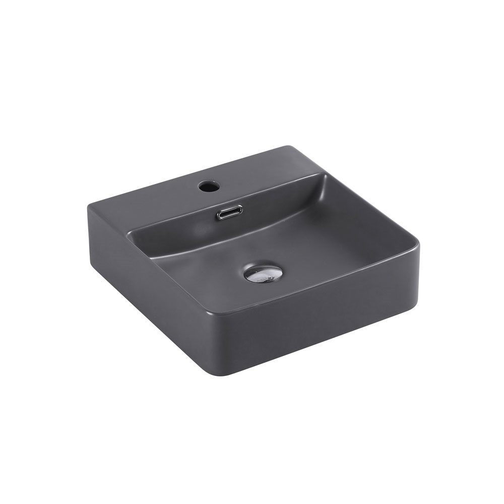 Marsay Wall Hung Basin - Nero Grey
