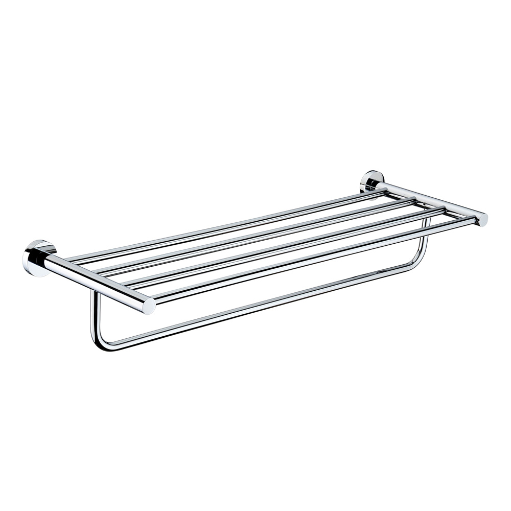 Mirage Towel Rack Chrome