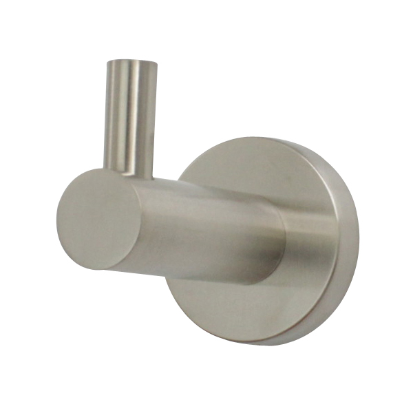 Mirage Single Robe Hook Brushed Nickel