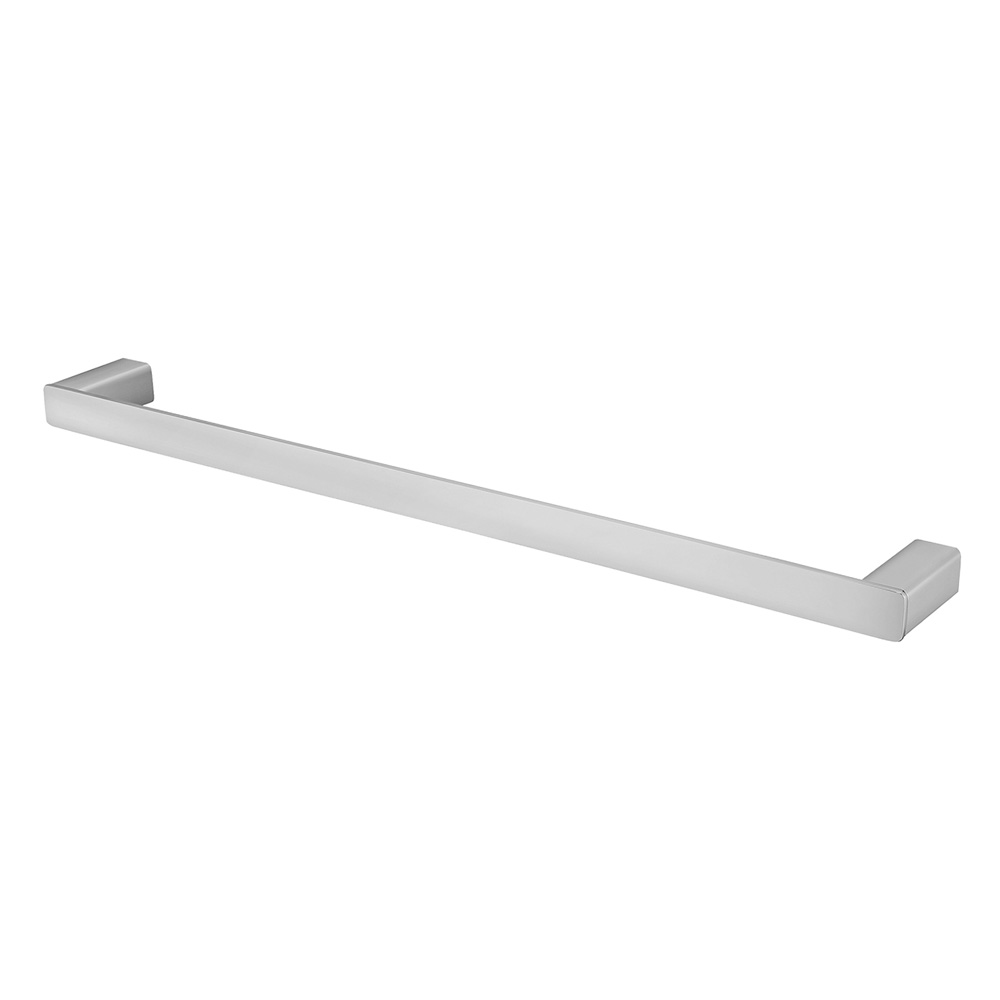 Noble Single Towel Rail 750mm Chrome