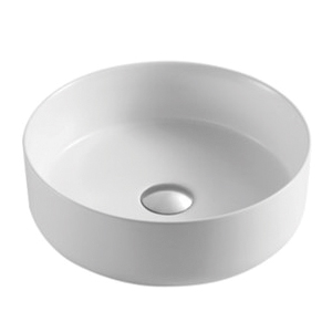 Ella Matte White Ceramic Basin