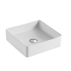 Kev Ceramic Basin - Matt White