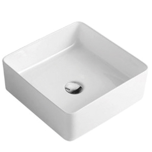 Square 370 mm Ceramic Basin