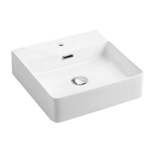 Sal Matte White Ceramic Basin
