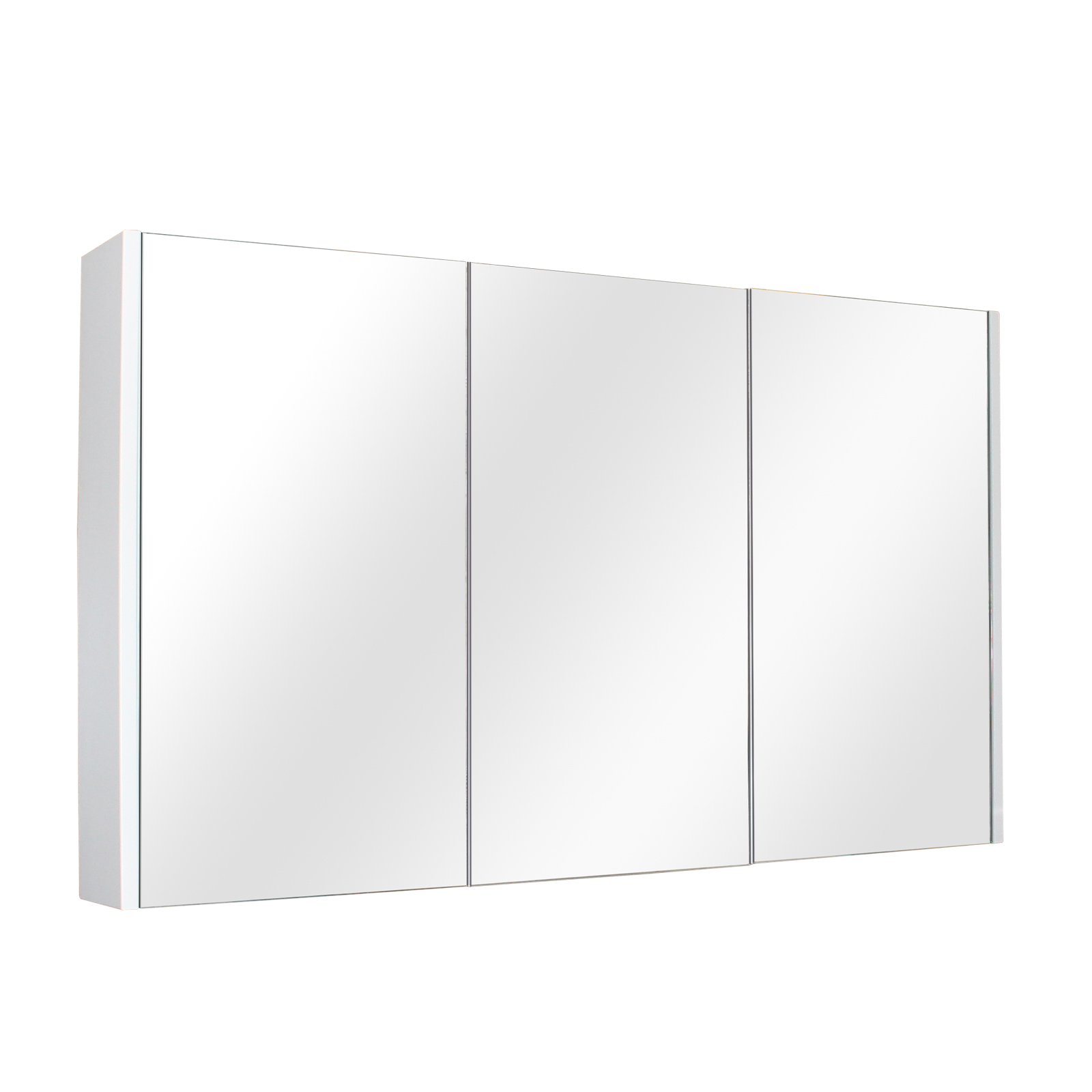 Paris 1200 Shaving Cabinet - Matt White