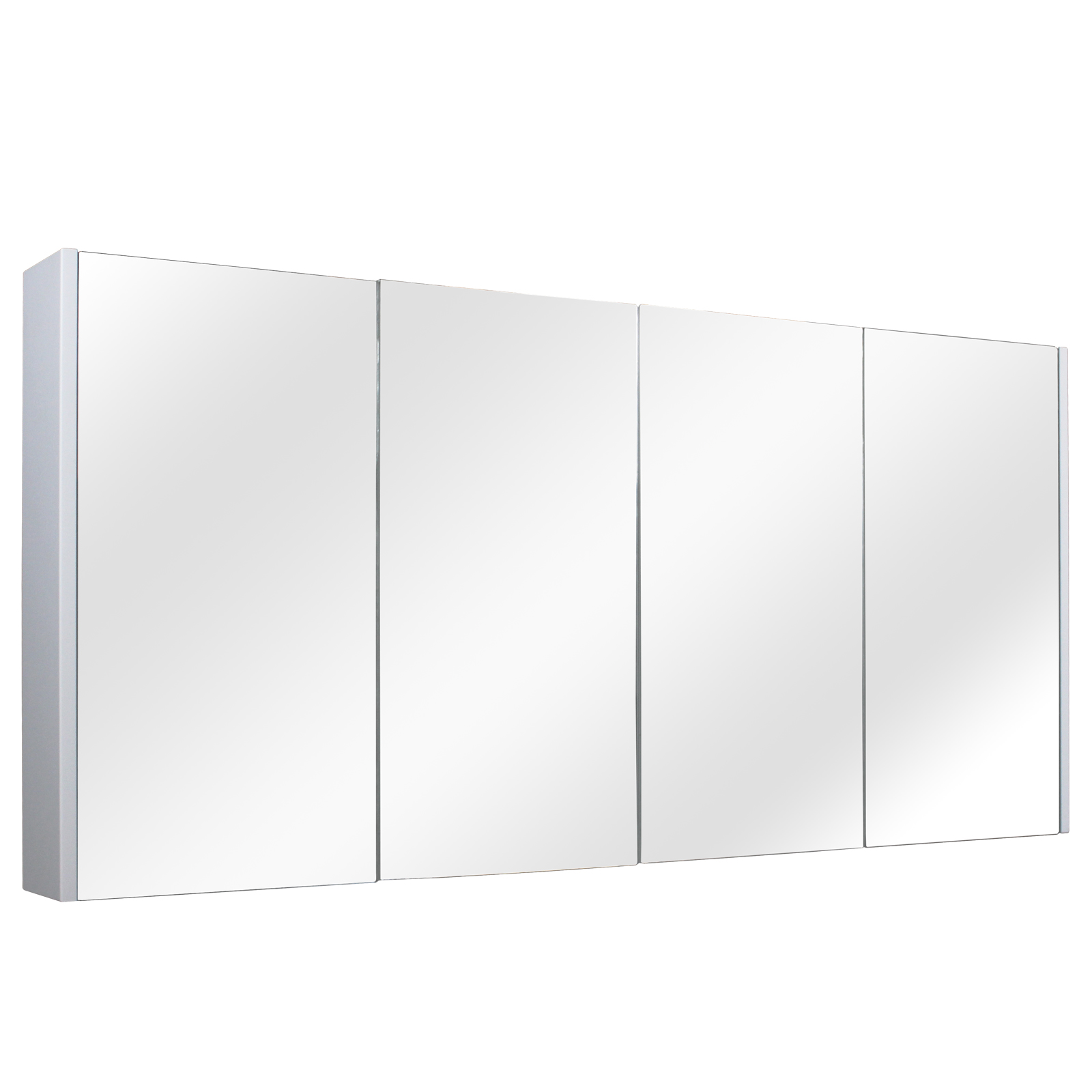 Paris 1500 Shaving Cabinet - Matte White