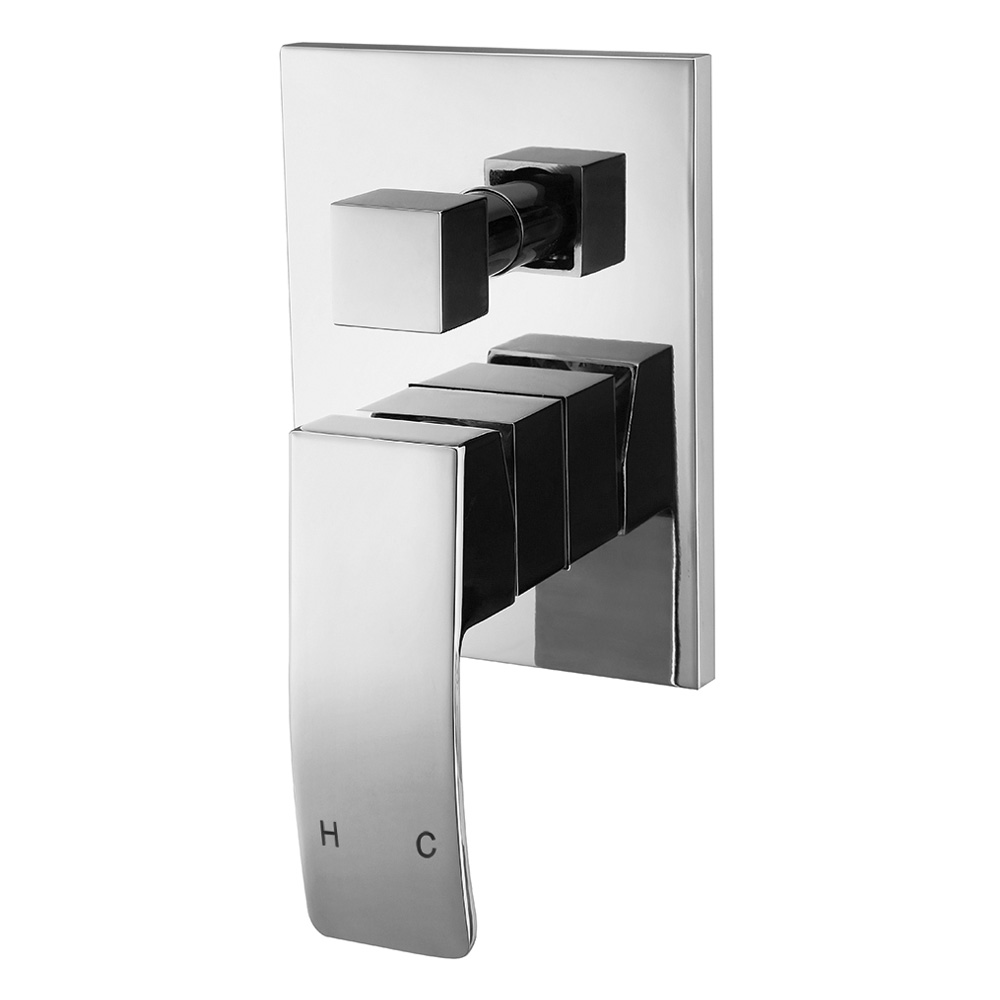 Queen Shower Diverter Chrome