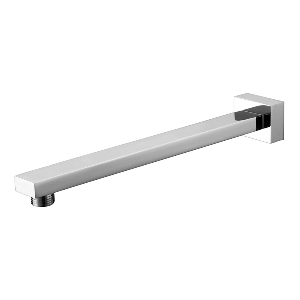 Straight Square Shower Arm 300mm Chrome