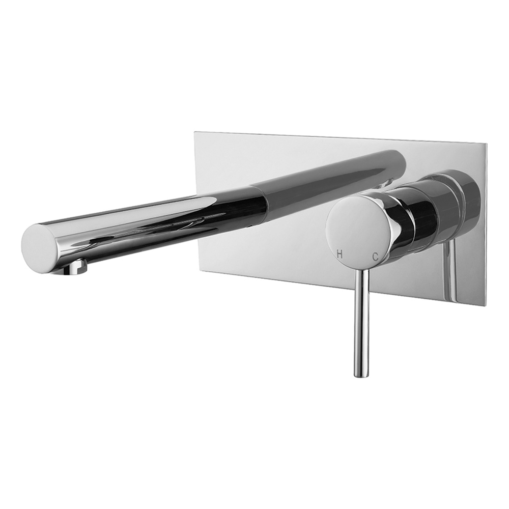 Star Wall Basin Mixer Chrome