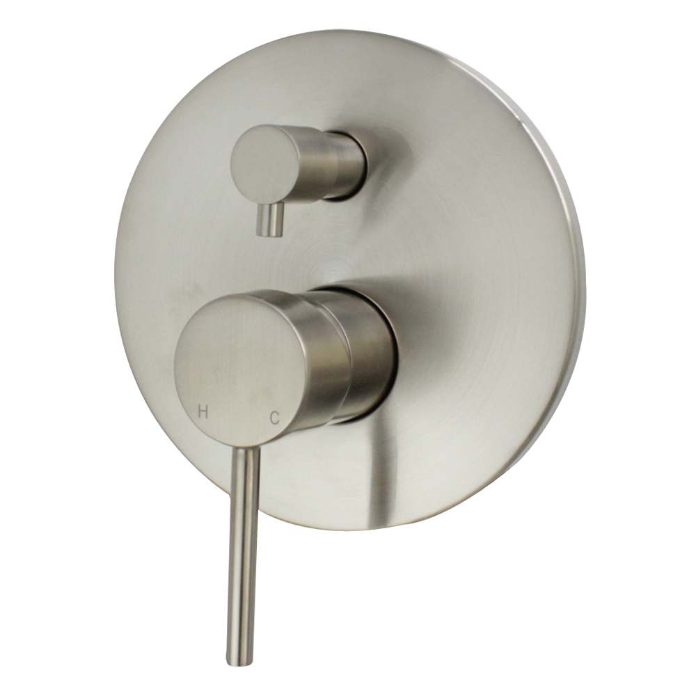 Star Shower Divertor Brushed Nickel