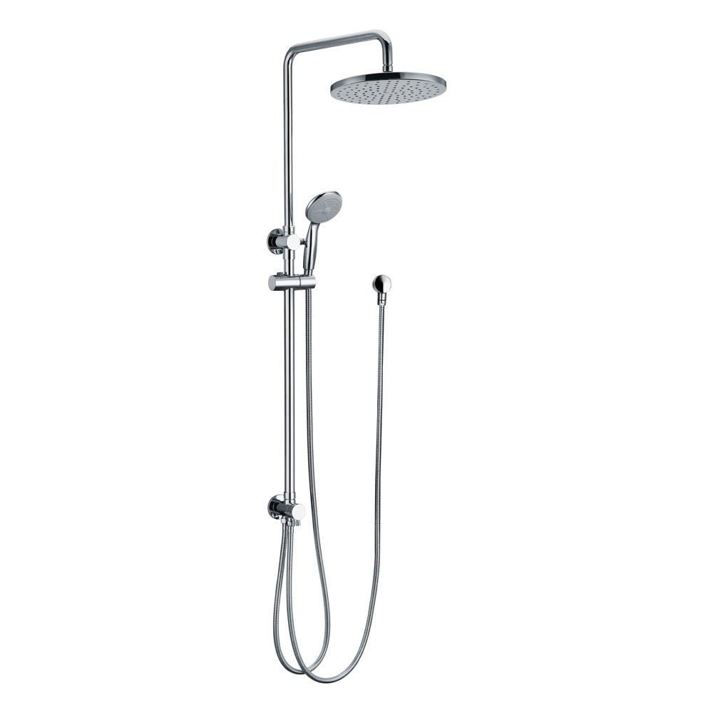 Star Twin Shower System-Double Hose Chrome