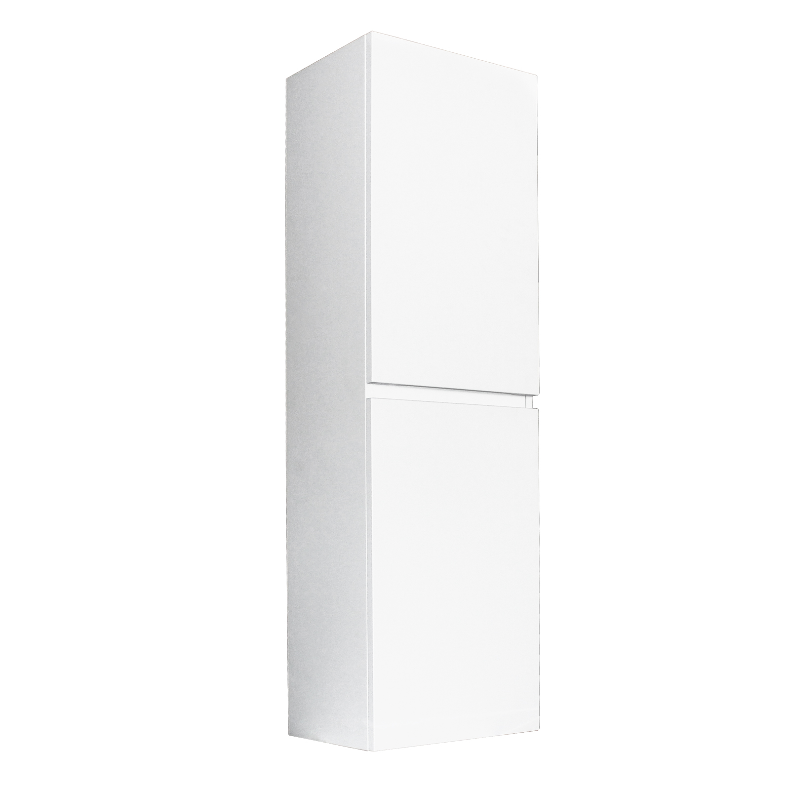 Paris Wall Hung Tall Boy - Matte White