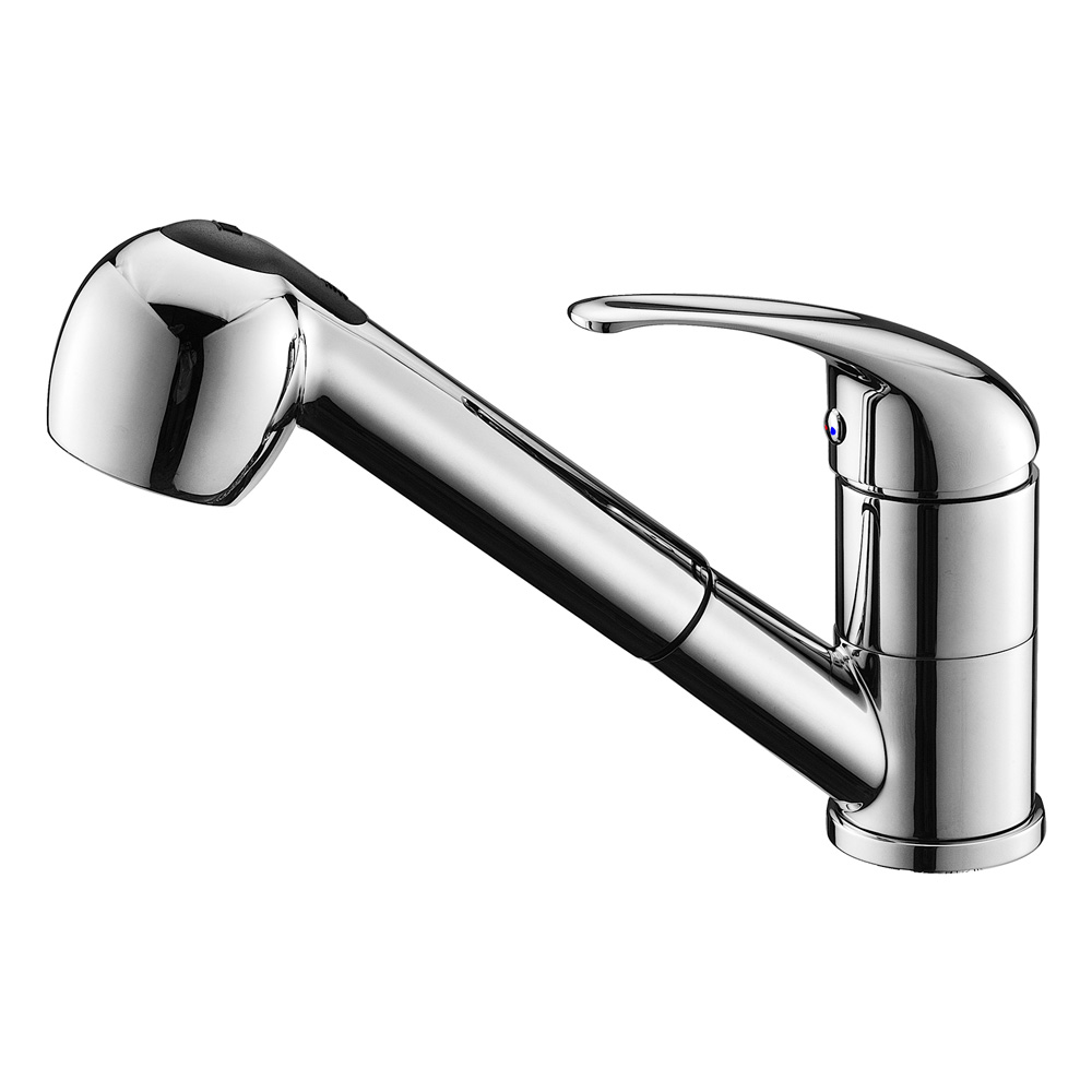 Valli Pull-Out Kitchen Mixer Chrome