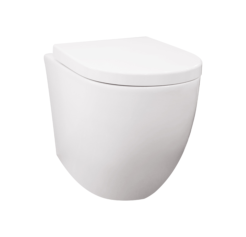 Veda Tornado Flush Wall Faced Pan