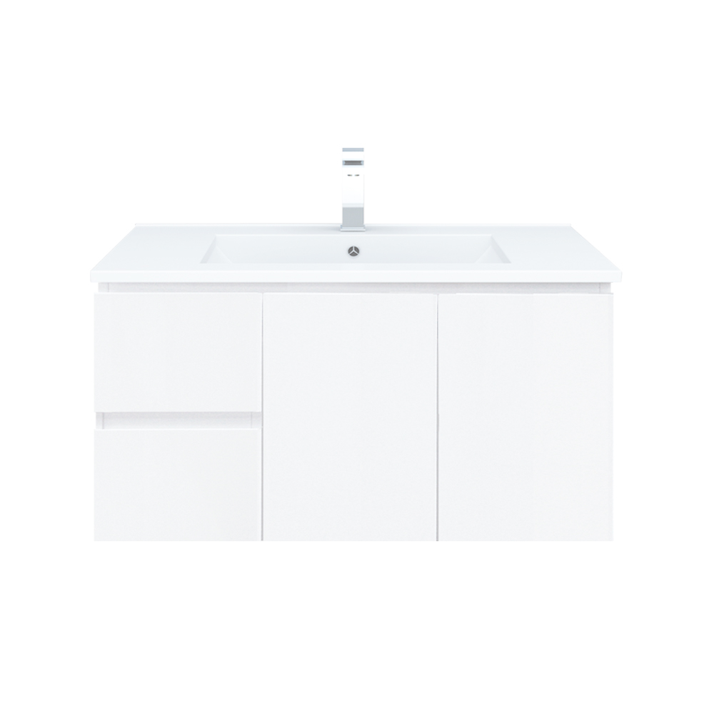 Polar 900mm Wall Hung Vanity