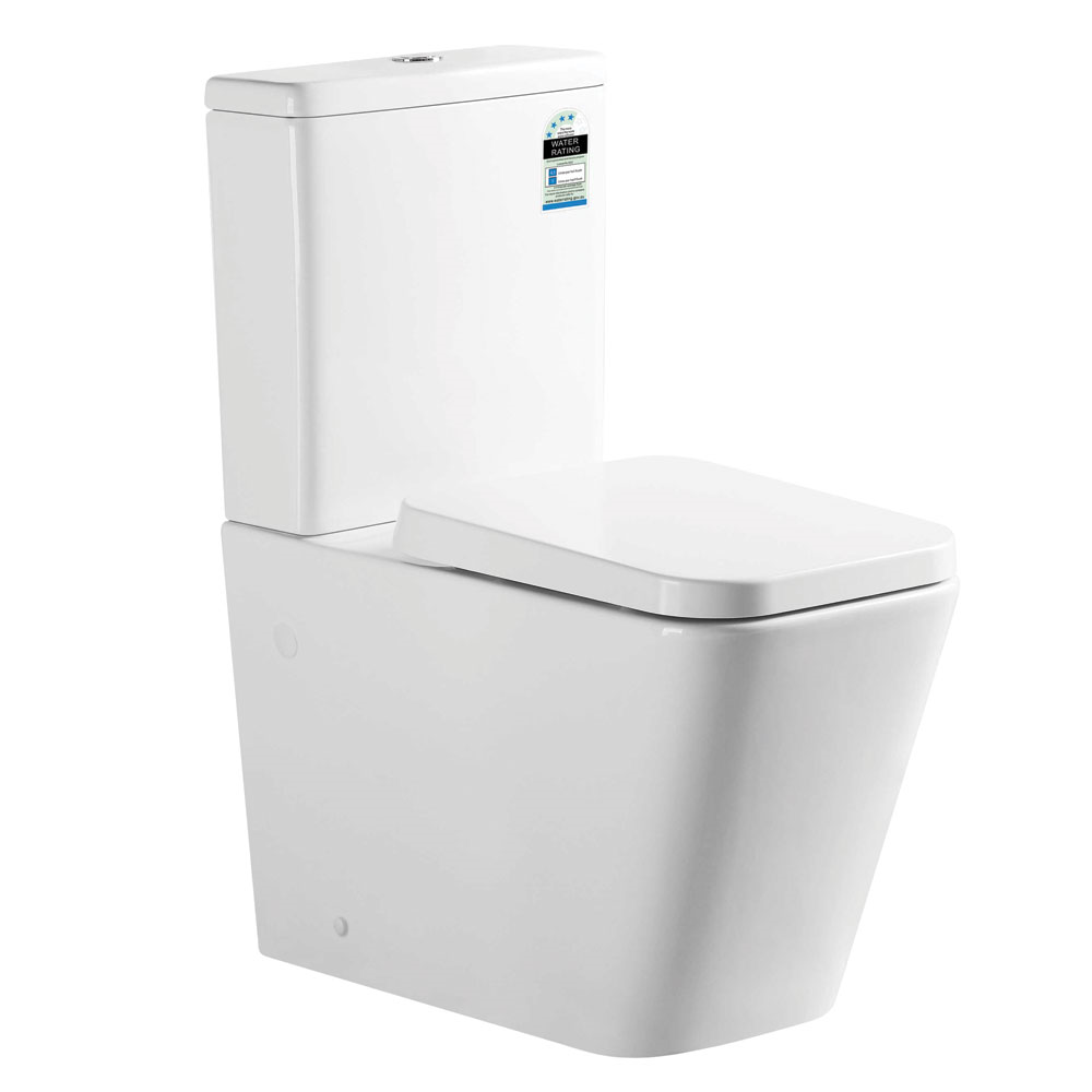 Qube Back To Wall Toilet Suite