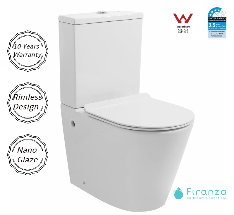 Rania Toilet Suite-Rimless