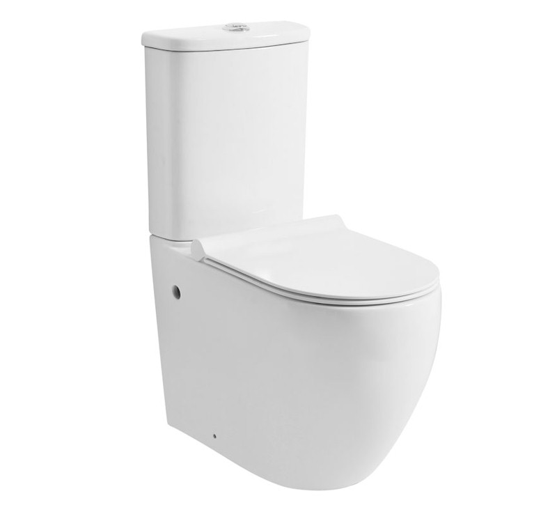 Urban Easy Height Toilet Suite-Rimless