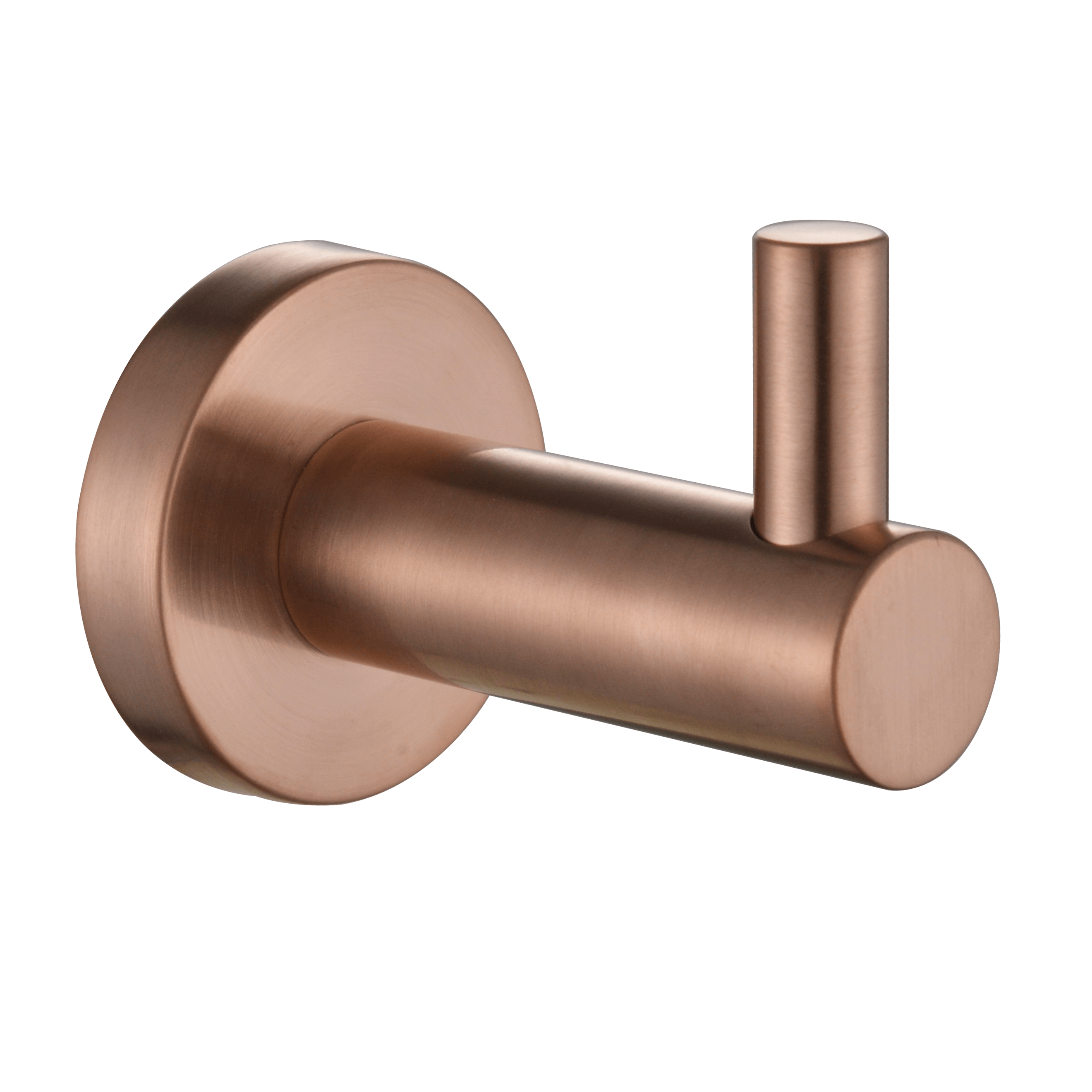 Mirage Single Robe Hook-PVD Champagne