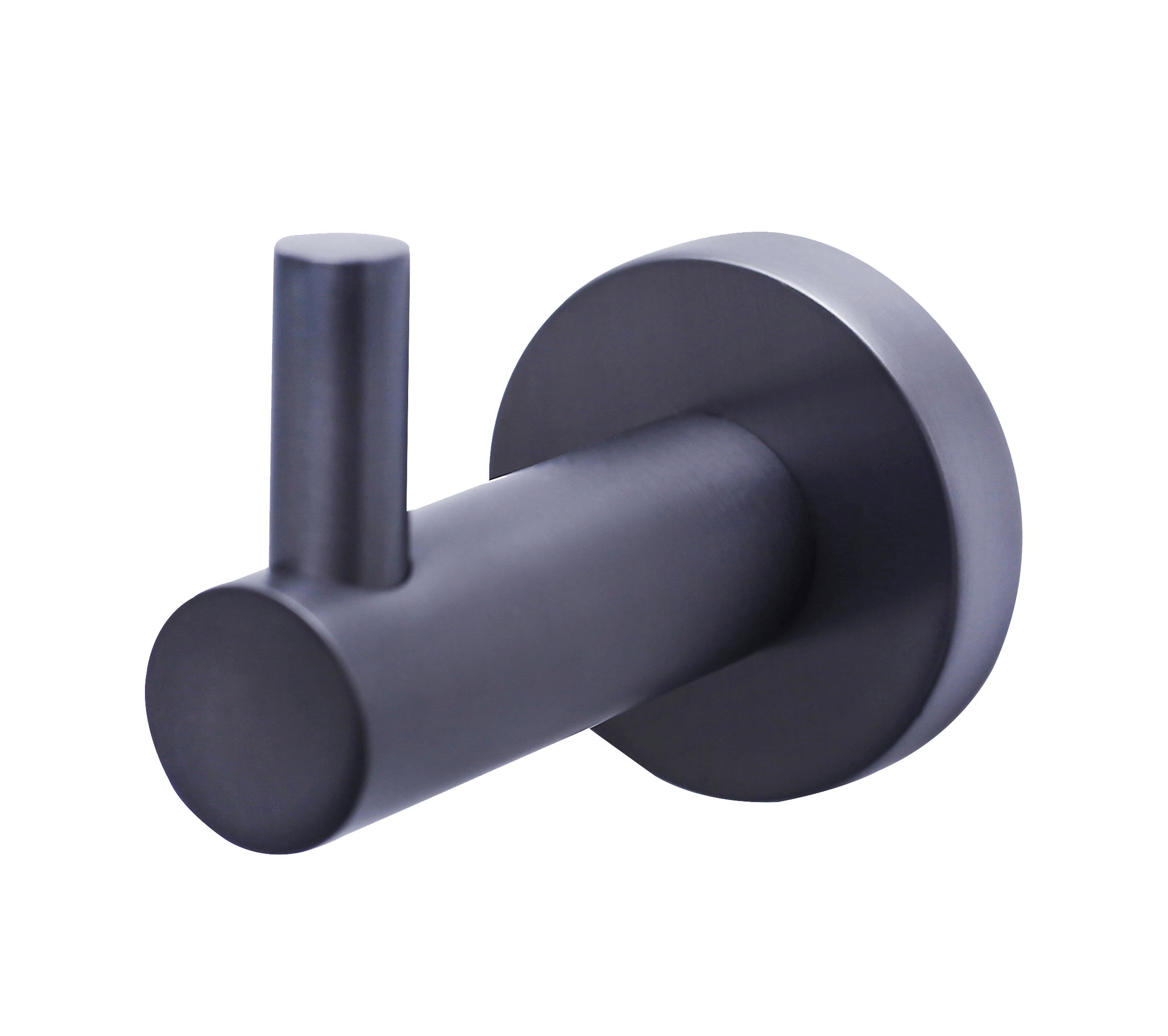 Mirage Single Robe Hook - Gun Metal