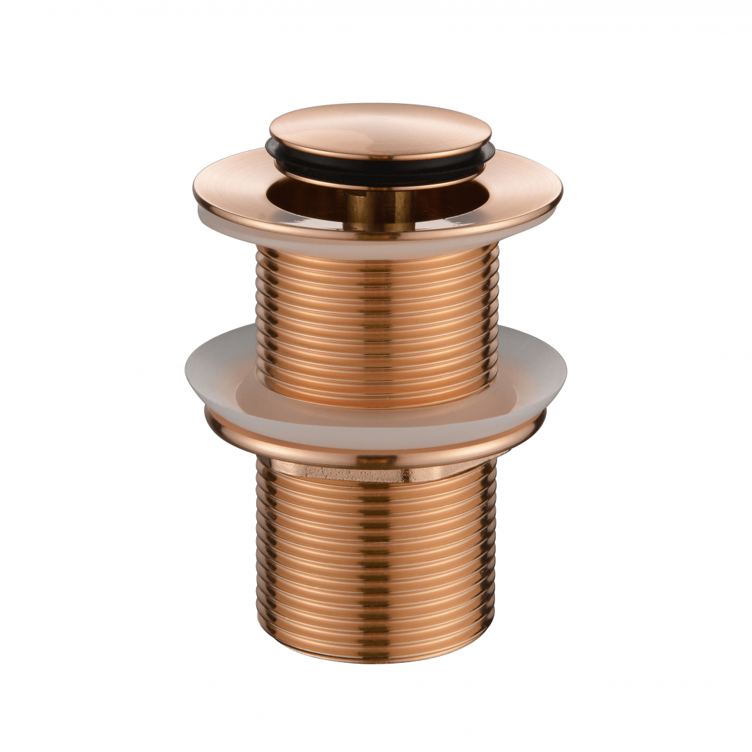 Pop-up Waste 32mm Non Overflow - Flemish Copper