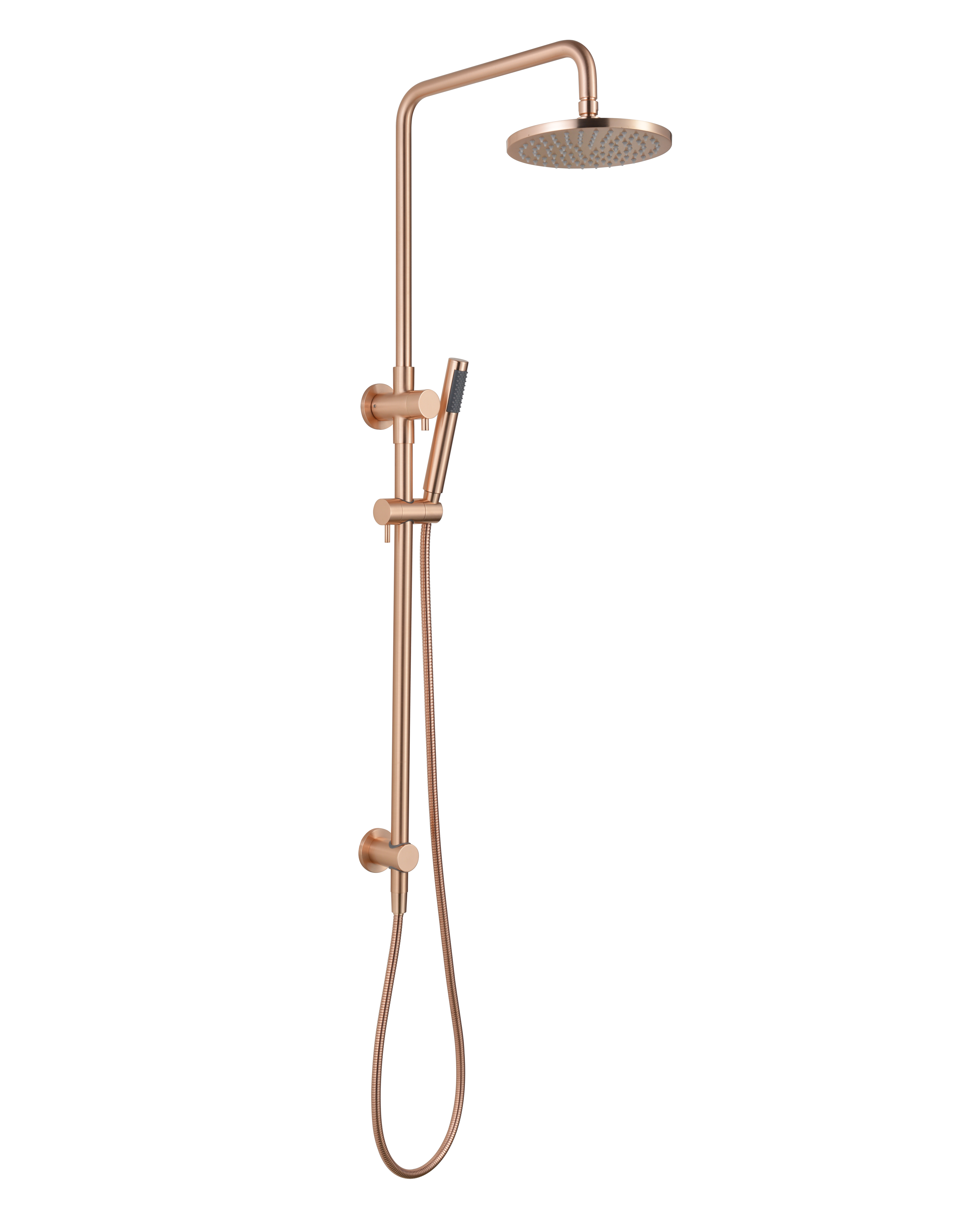 Star Twin Shower System-Flemish Copper