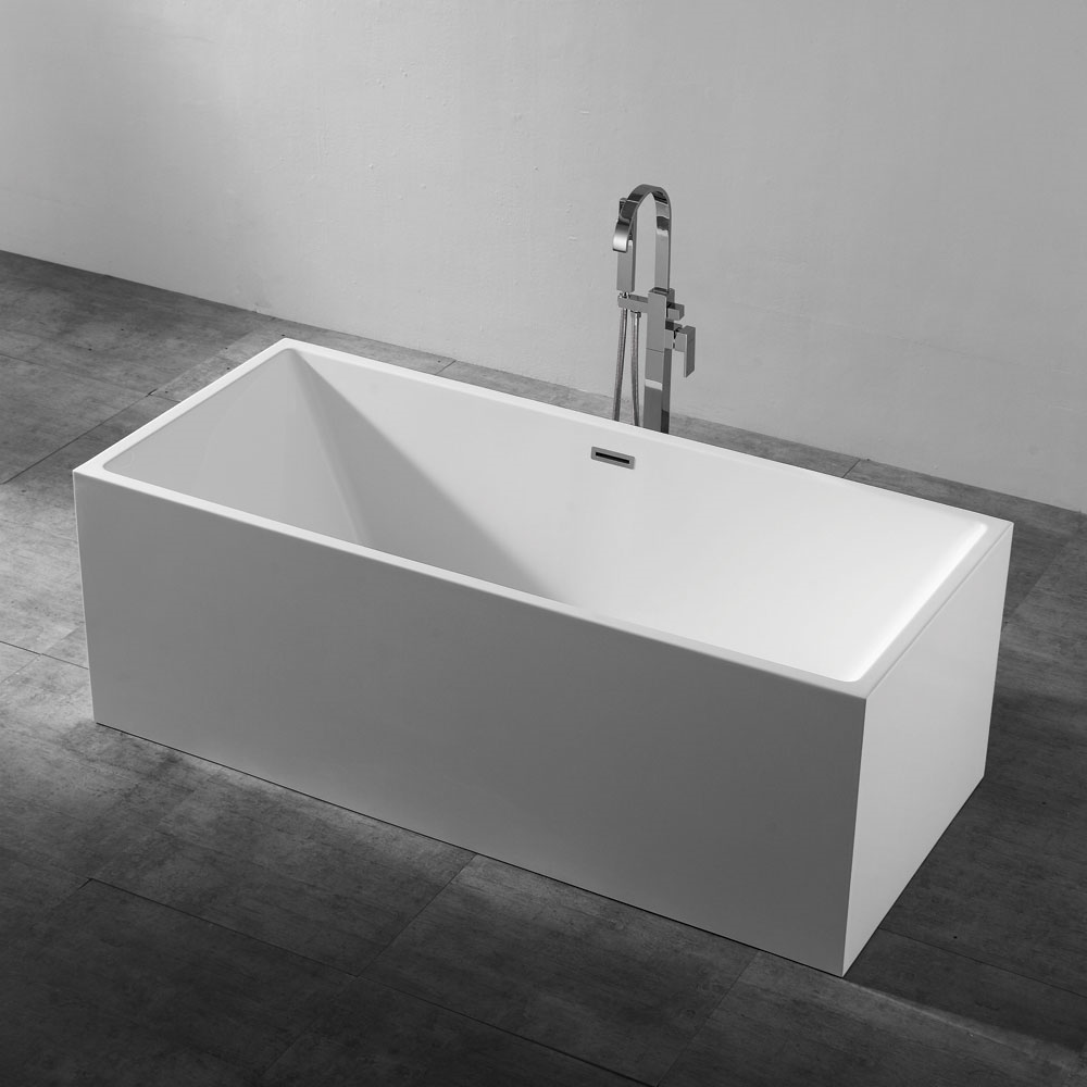 Qube 1500 Multi-Fit Bathtub-Gloss White