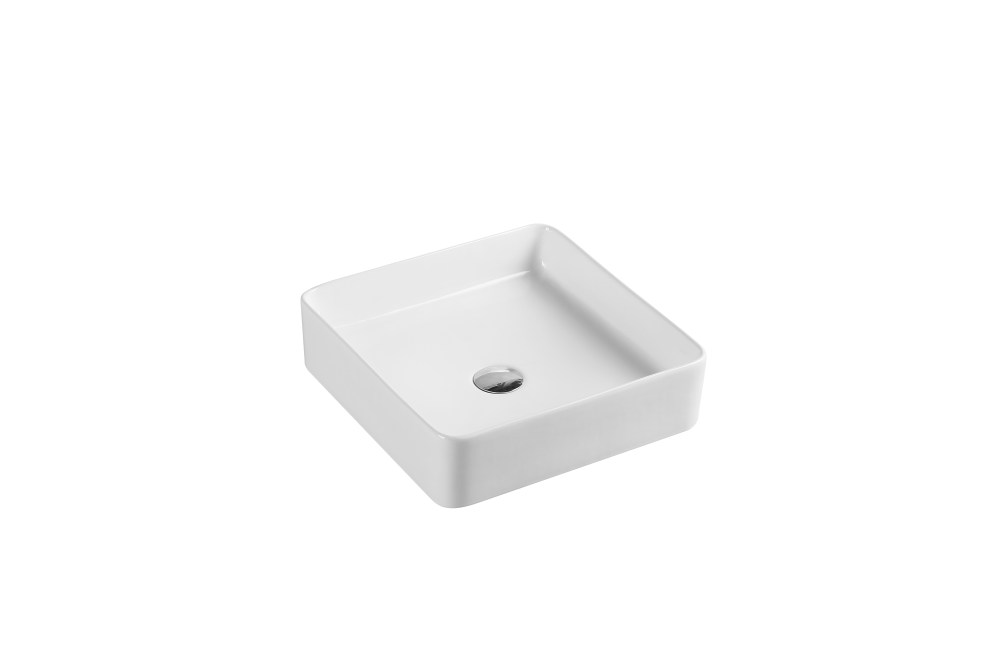 SQ Qube Counter-Top Square Basin (390x390)