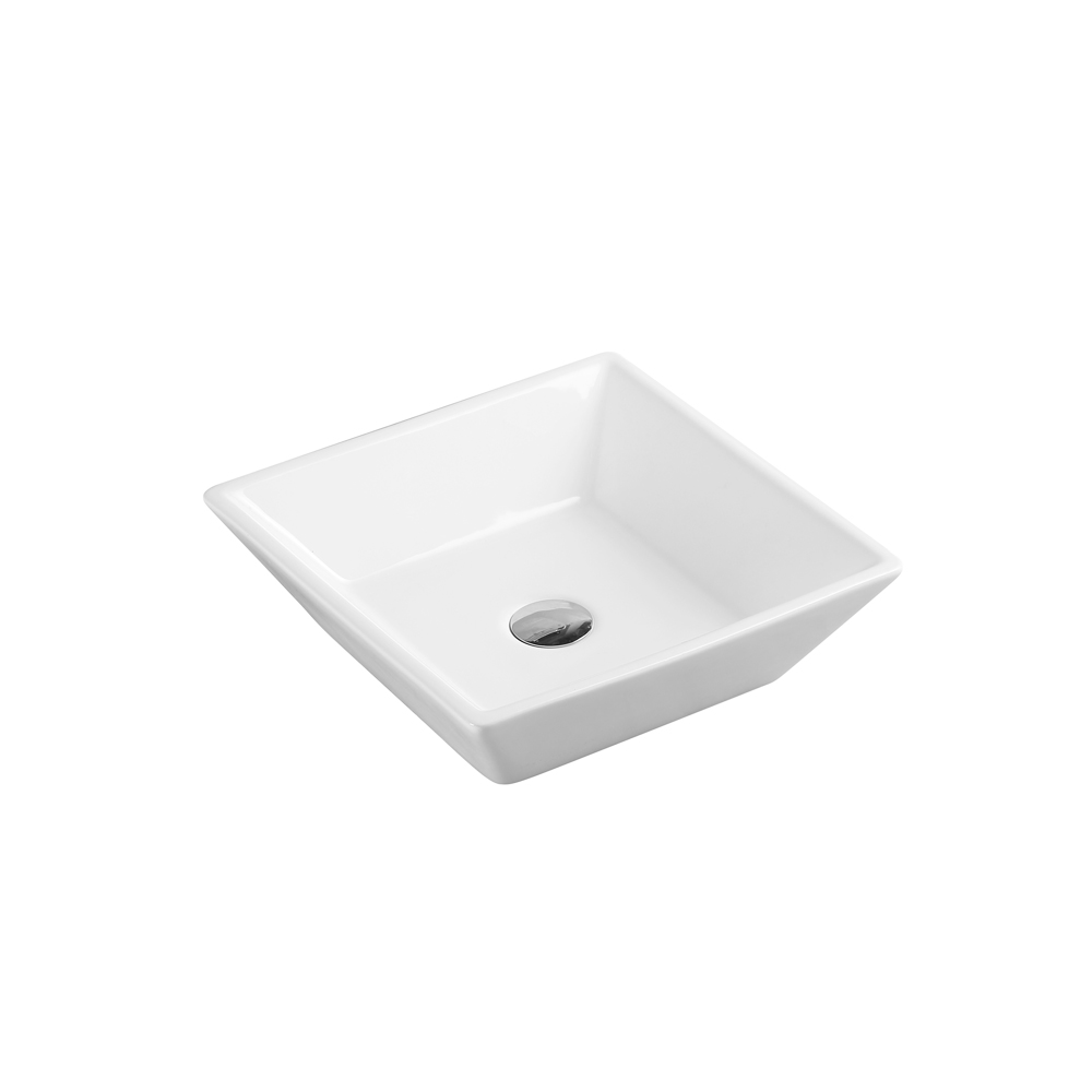 SQ Counter-Top Square Basin (410x410)