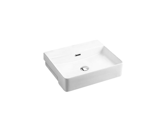 Riff Semi-recessed Rectangular Basin (500x400)