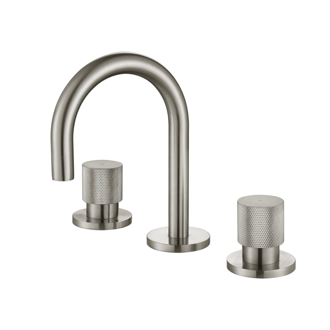 Cadence 1/4 Turn Basin Set-Brushed Nickel