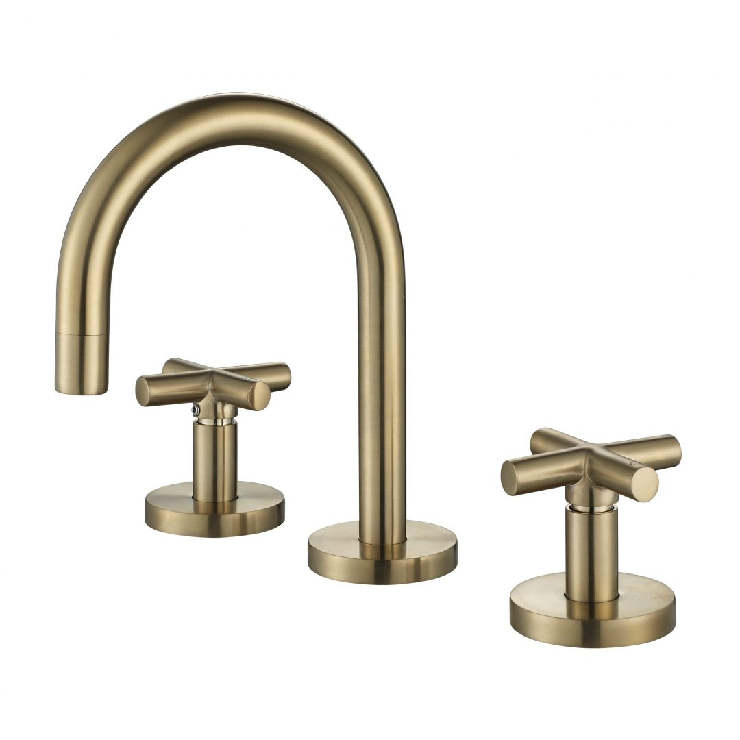 Ryker 1/4 Turn Basin Set-PVD Brushed Bronze