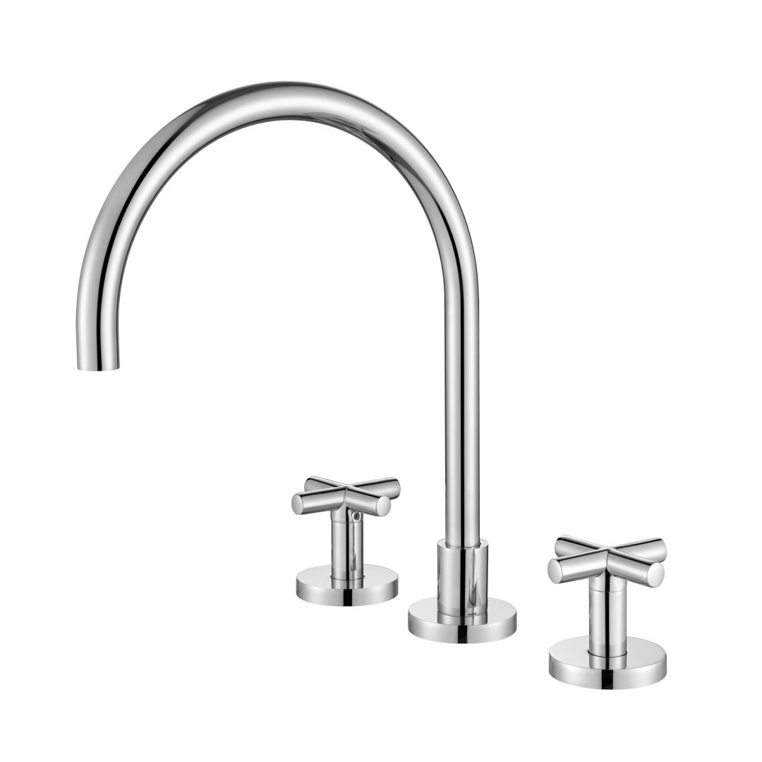 Ryker 1/4 Turn Kitchen Set-Chrome