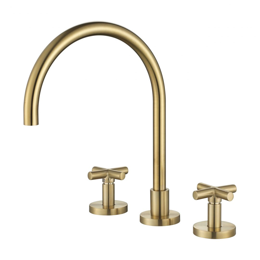 Ryker 1/4 Turn Kitchen Set-PVD Brushed Bronze