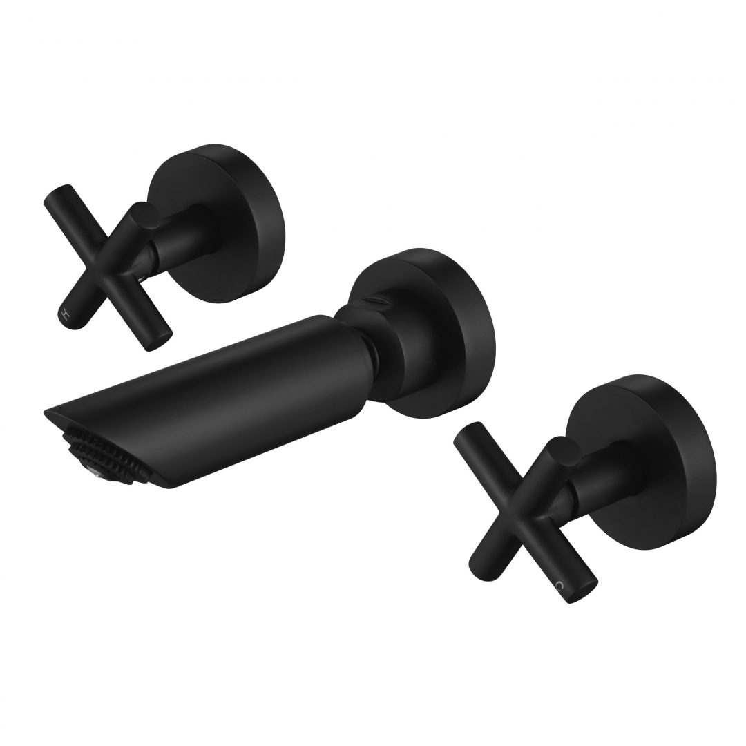 Ryker 1/4 Turn Shower Set-Matt Black