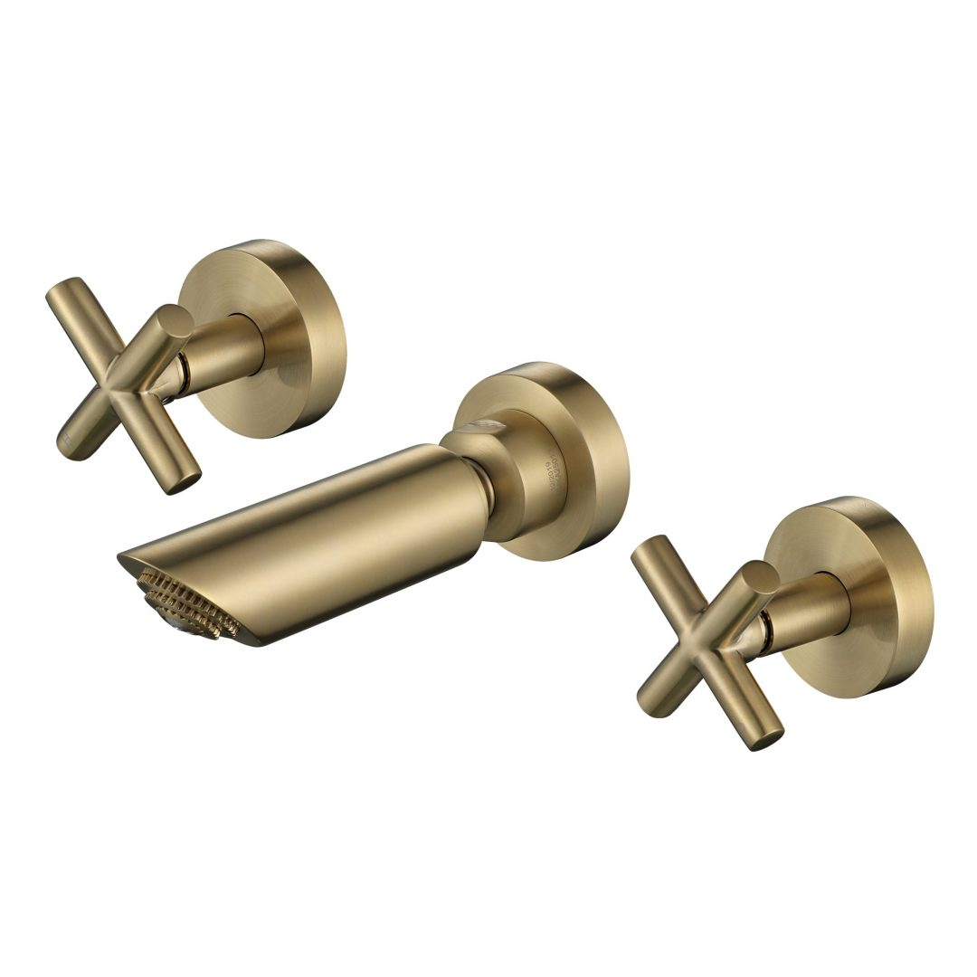 Ryker 1/4 Turn Shower Set-PVD Brushed Bronze
