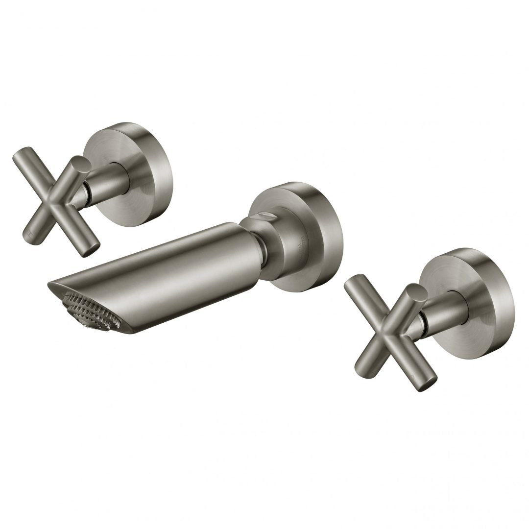 Ryker 1/4 Turn Shower Set-PVD Brushed Nickel