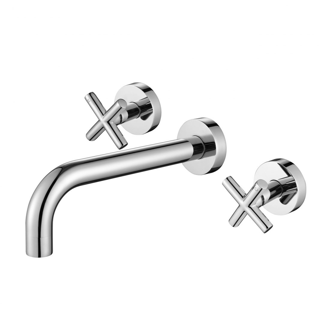 Ryker 1/4 Turn Bath Set-Chrome