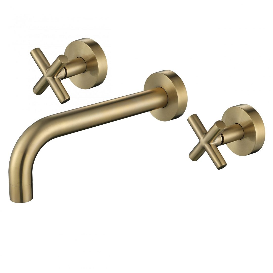 Ryker 1/4 Turn Bath Set-PVD Brushed Bronze