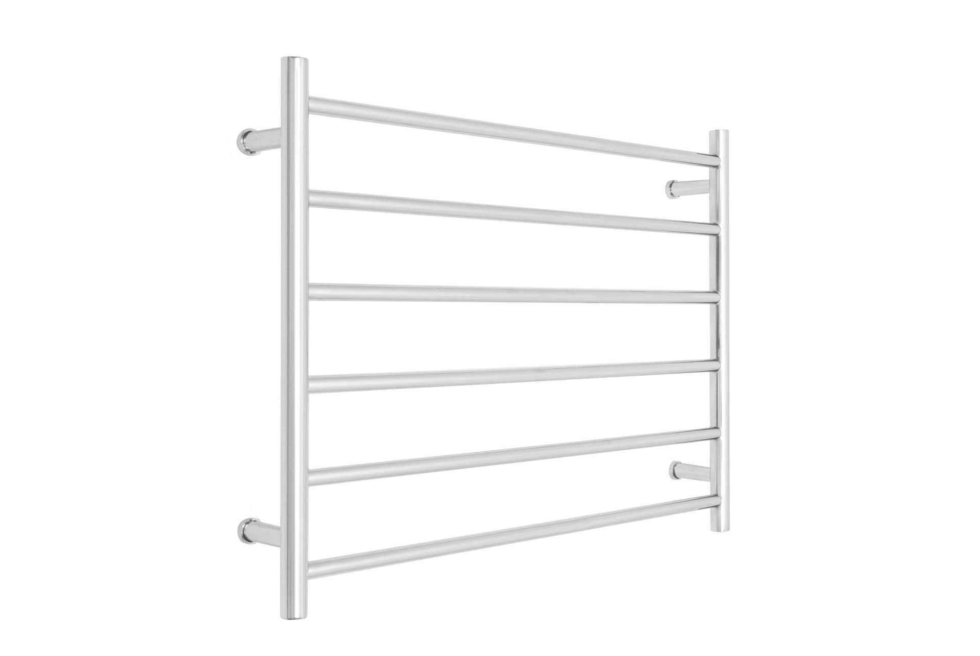 Allegra 6 Bar Wide Heated Towel Rail- Chrome