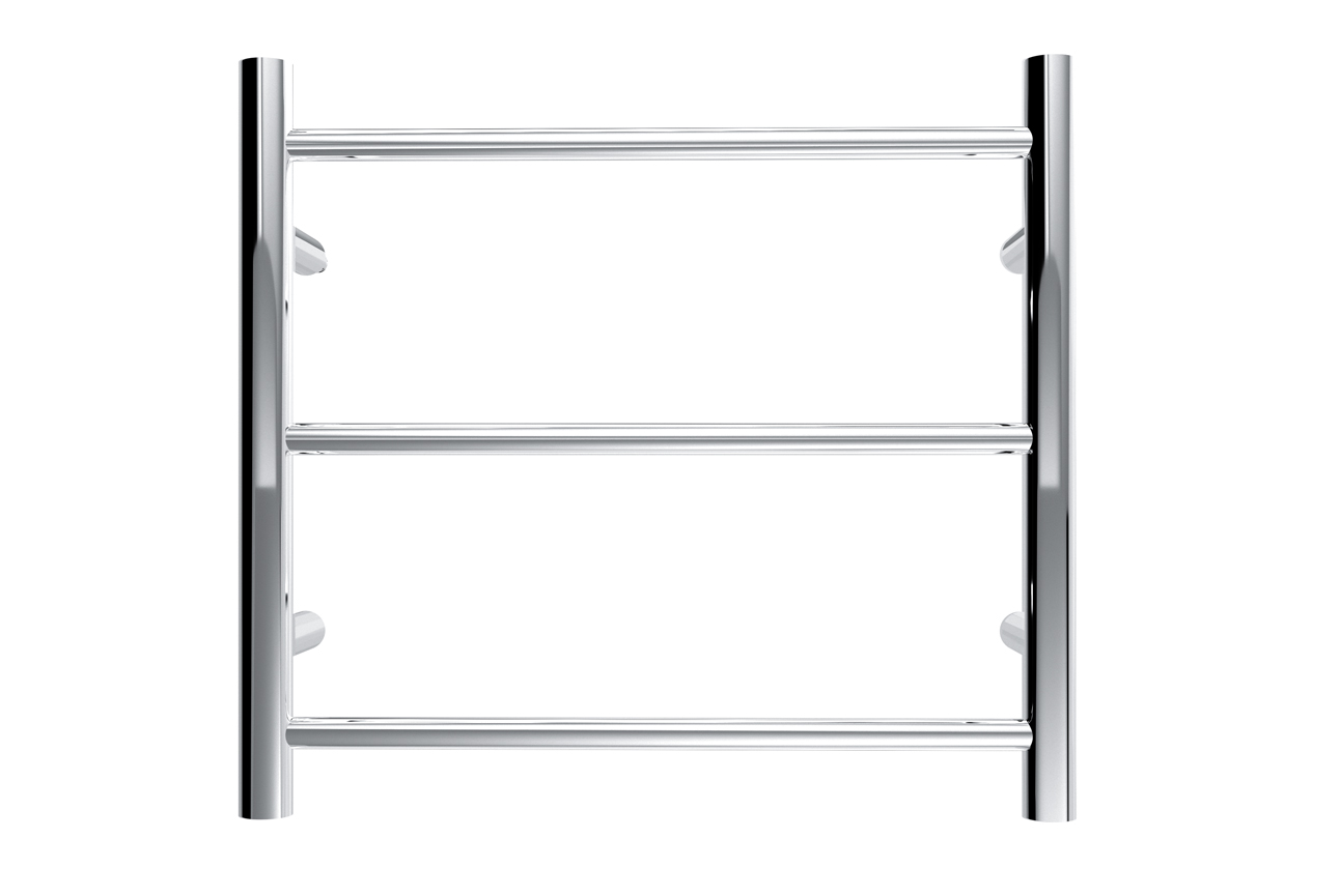Avid 3 Bar Heated Towel Rail- Chrome